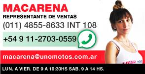 Telefono Contacto UNOMOTOS