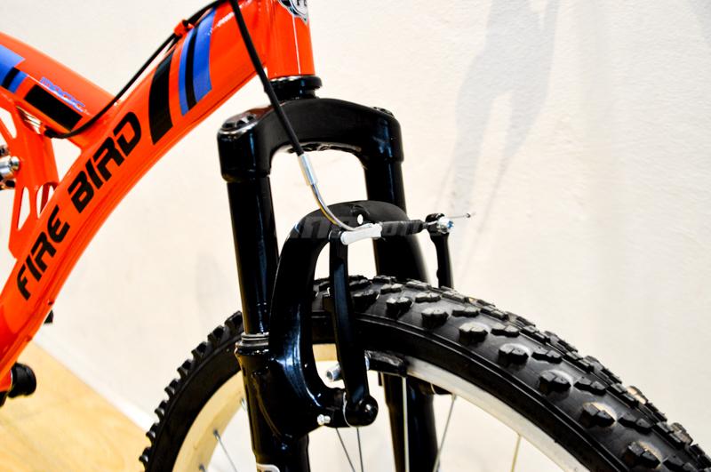 Moto Fire Bird Bicicleta MTB Rod 26 18 Vel Shimano Full Suspension