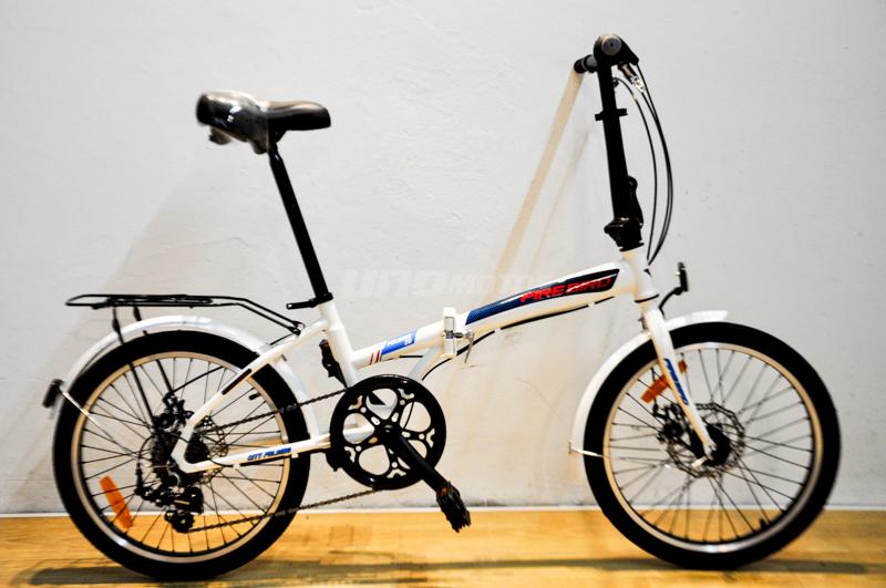 Moto Fire Bird Bicicleta Plegable R20 freno Disco