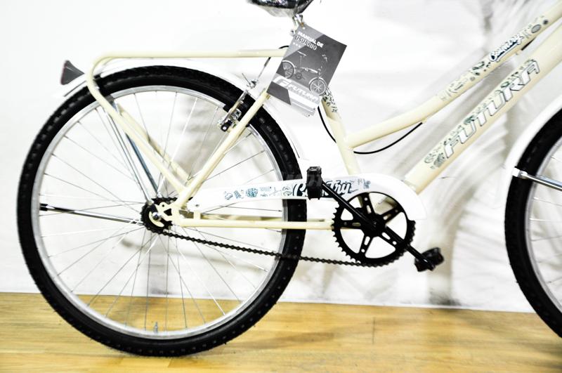 Moto Futura Bicicleta Country City Cruiser Paseo Dama playera Rodado 26