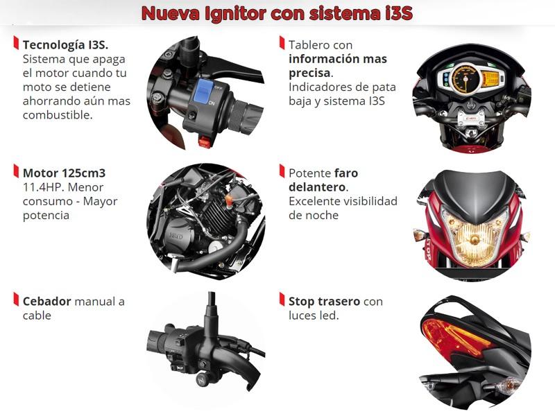 Moto Hero Hero Ignitor 125 i3s