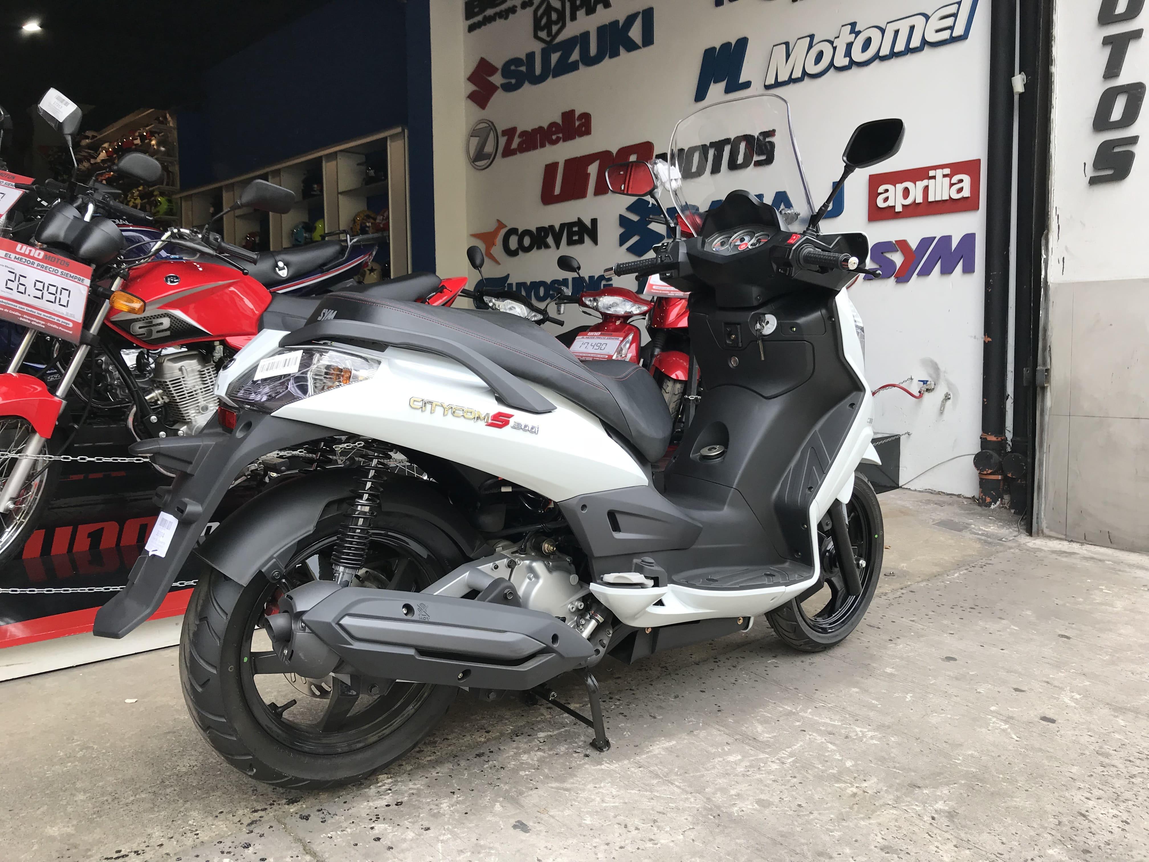 Moto Sym Citycom 300 i Sport Scooter