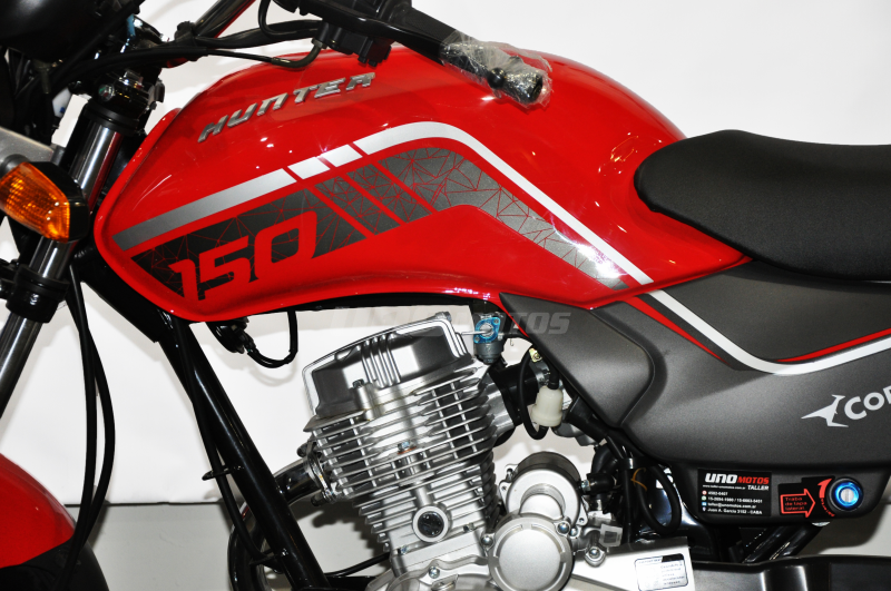 Moto Corven Hunter 150 base linea 2019