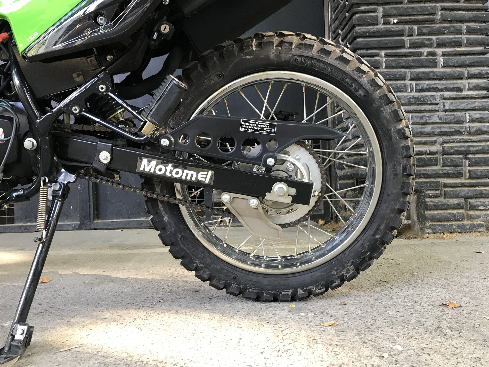 Moto Motomel skua 250 base linea 2014
