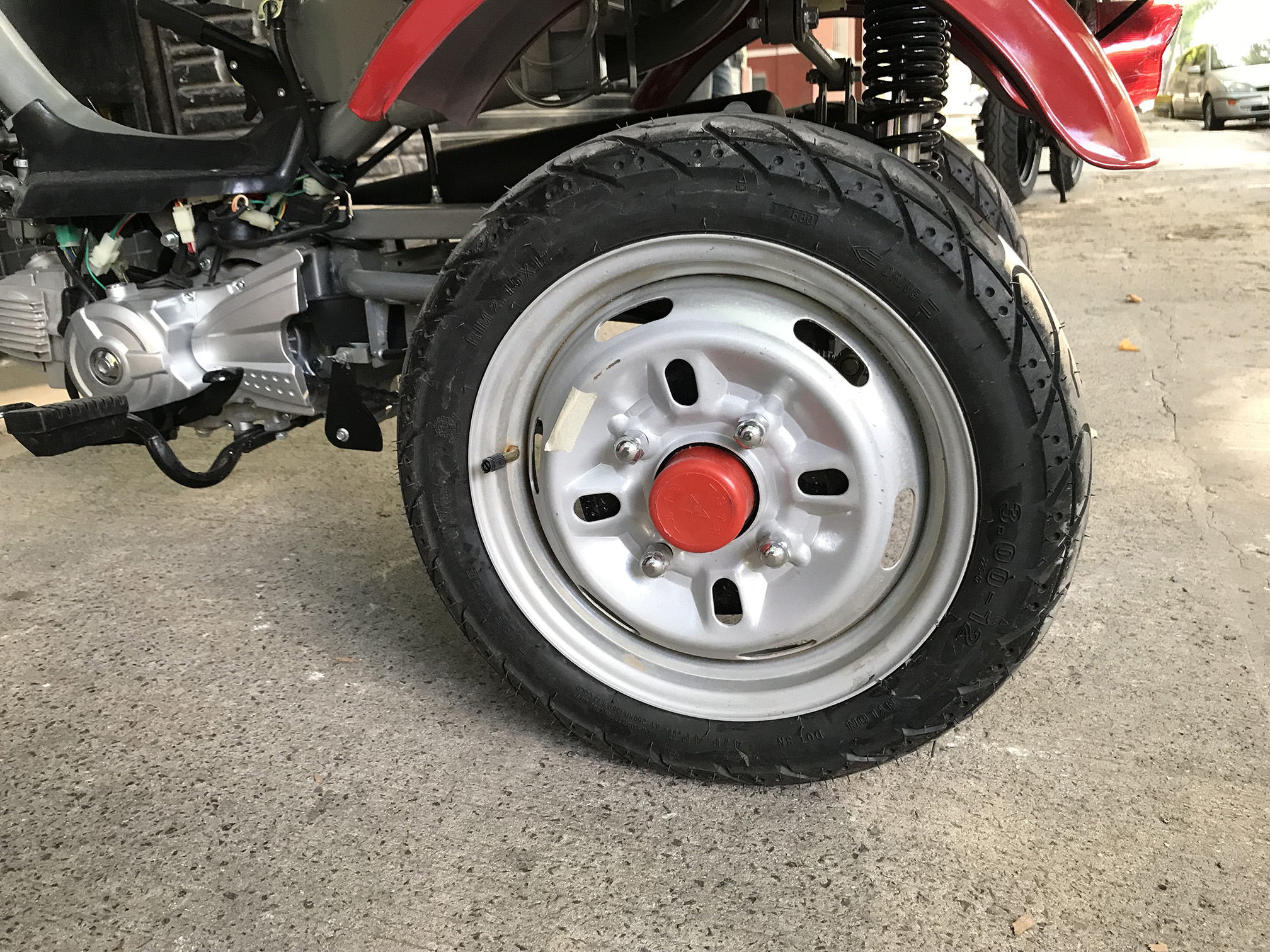 Moto Zanella Tricargo 110 4T