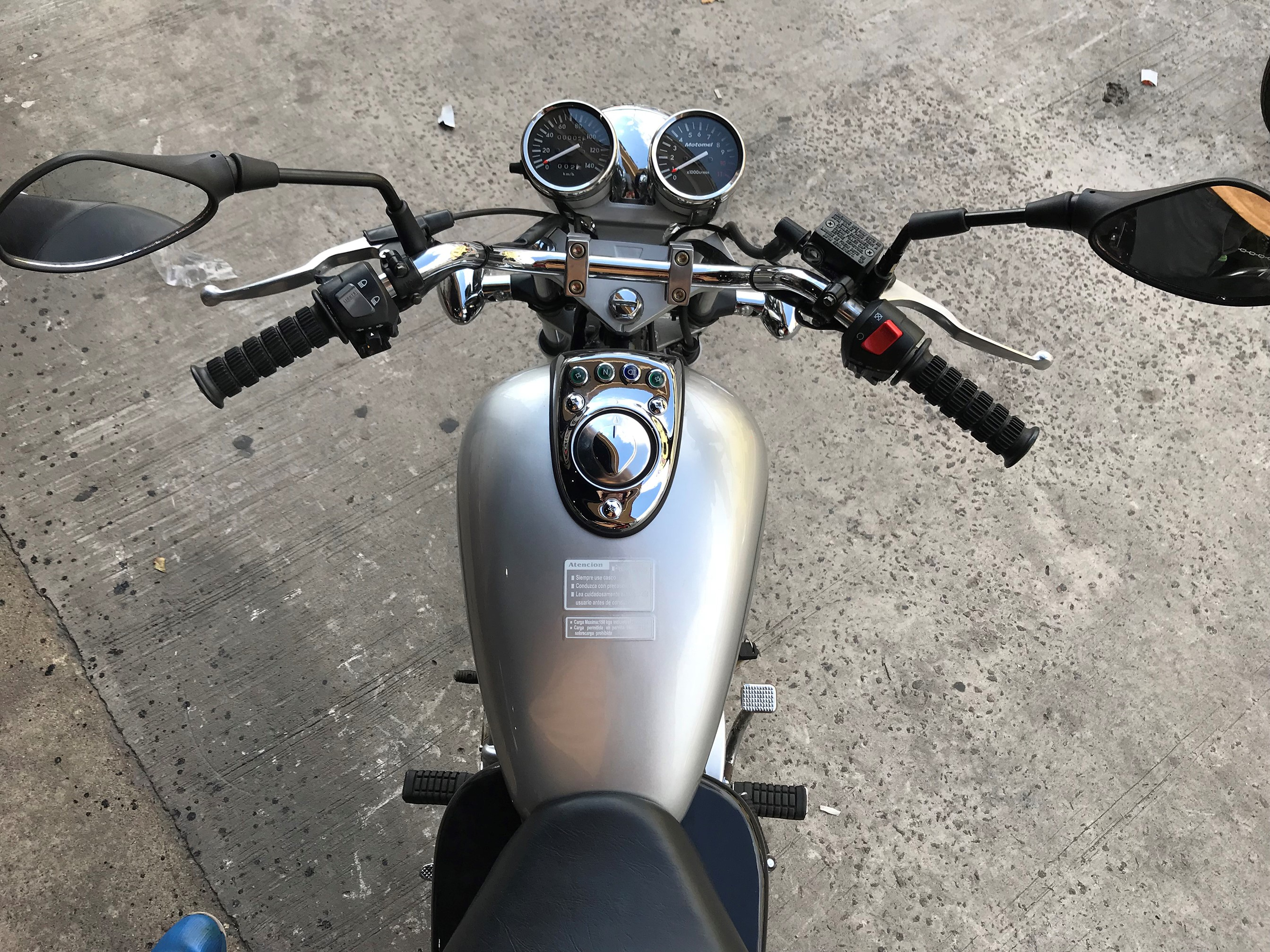 Moto Motomel Clipper 110