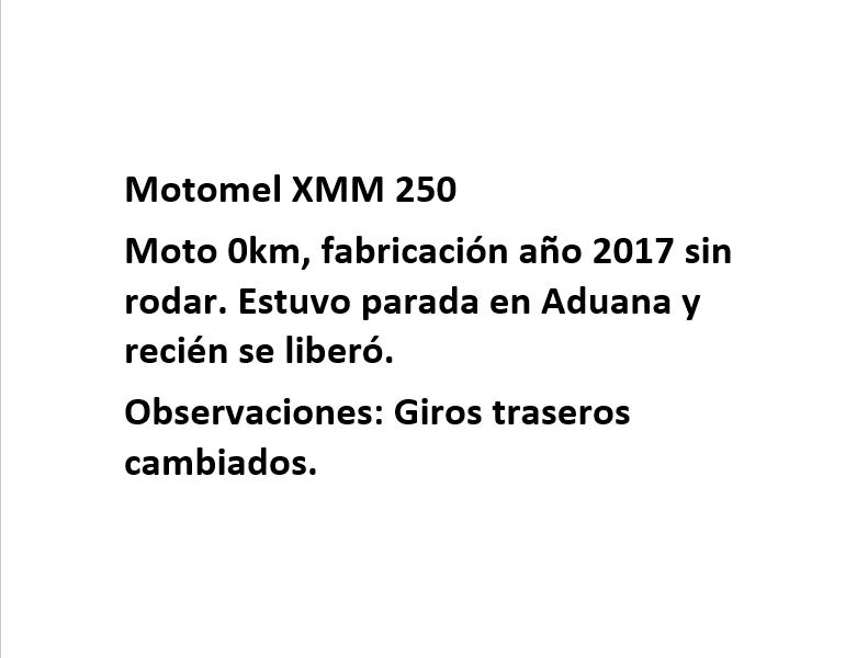 Moto Motomel XMM 250 Enduro linea 2017