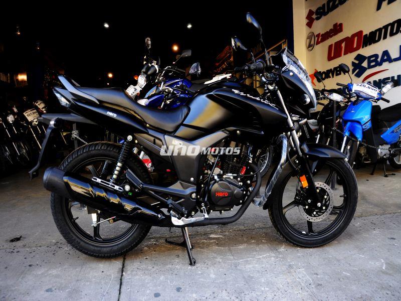 Moto Hero Hunk 150 Negro Mate