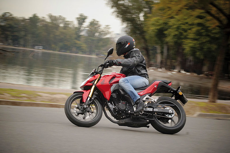 Moto Honda Cb 190 R linea 2019