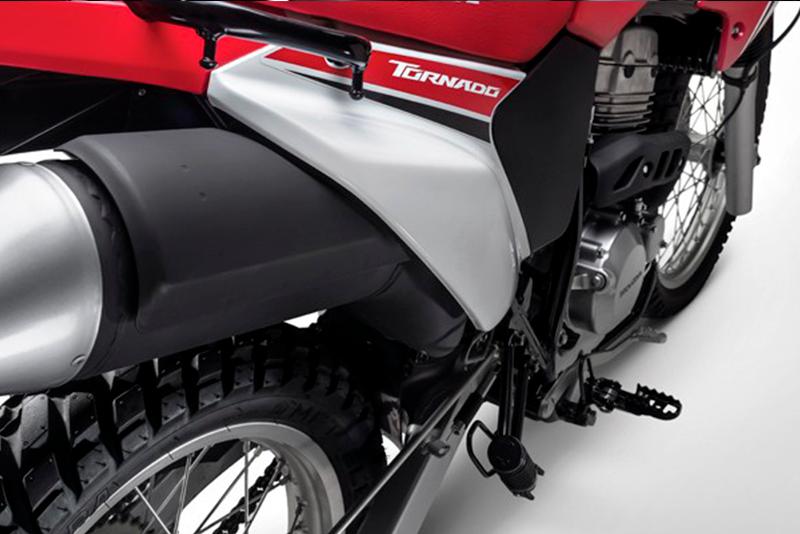 Moto Honda XR 250 Tornado