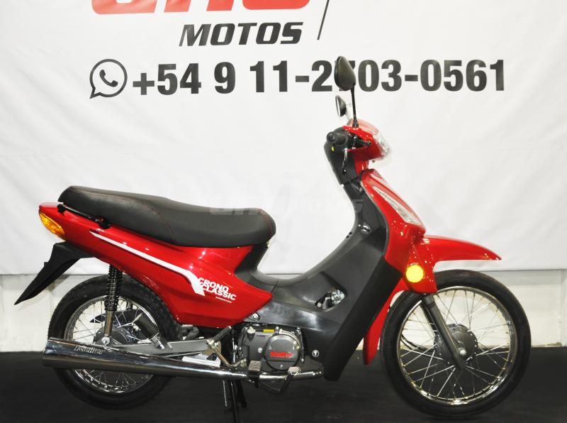 Moto Keller Crono Classic 110 Base 2019