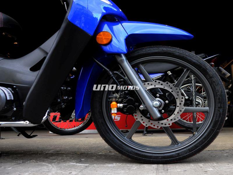 Moto Keller Crono Classic 110 Full Aleacion / Disco