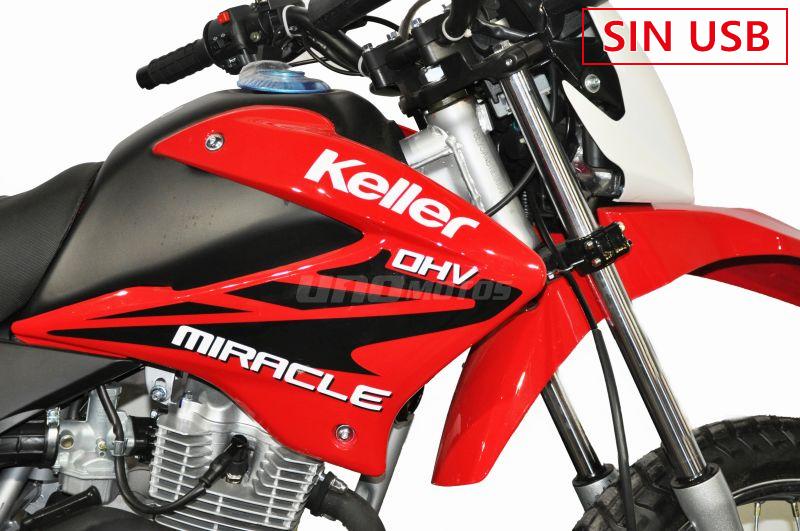 Moto Keller Miracle 150 Evo Sin USB