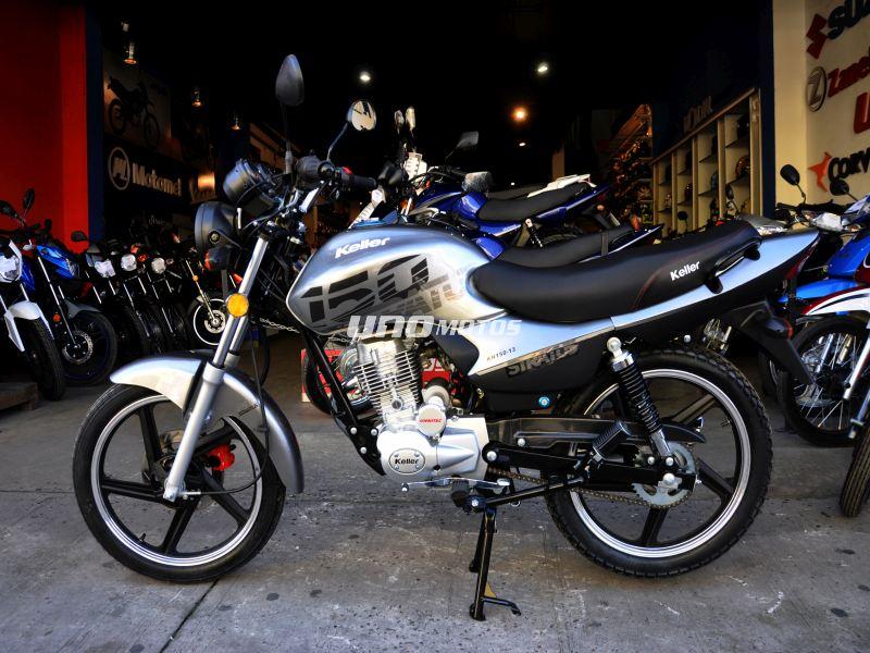 Moto Keller Stratus CG 150 Full Aleacion Disco