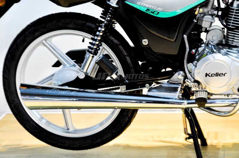 Moto Keller Stratus CG 150 Full V2 linea 2021