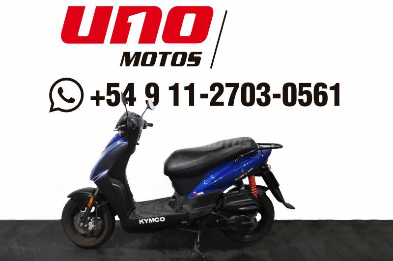 Moto Kymco Agility 125 usado 2016 con 7300km Int 24399