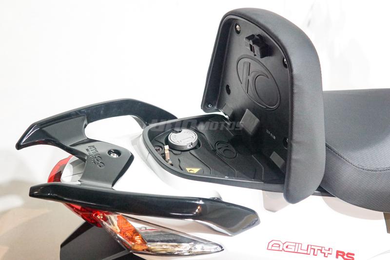 Moto Kymco Agility 125 Rs Naked
