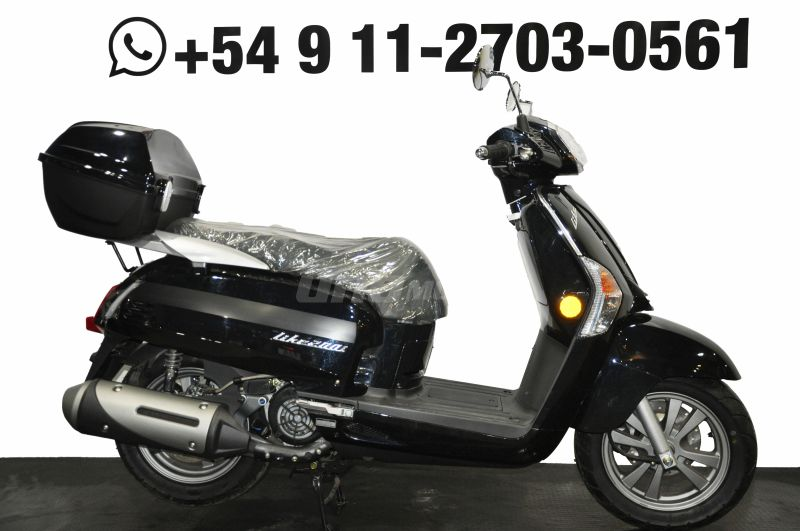 Moto Kymco Like 200 i 2018 OUTLET int: 21281