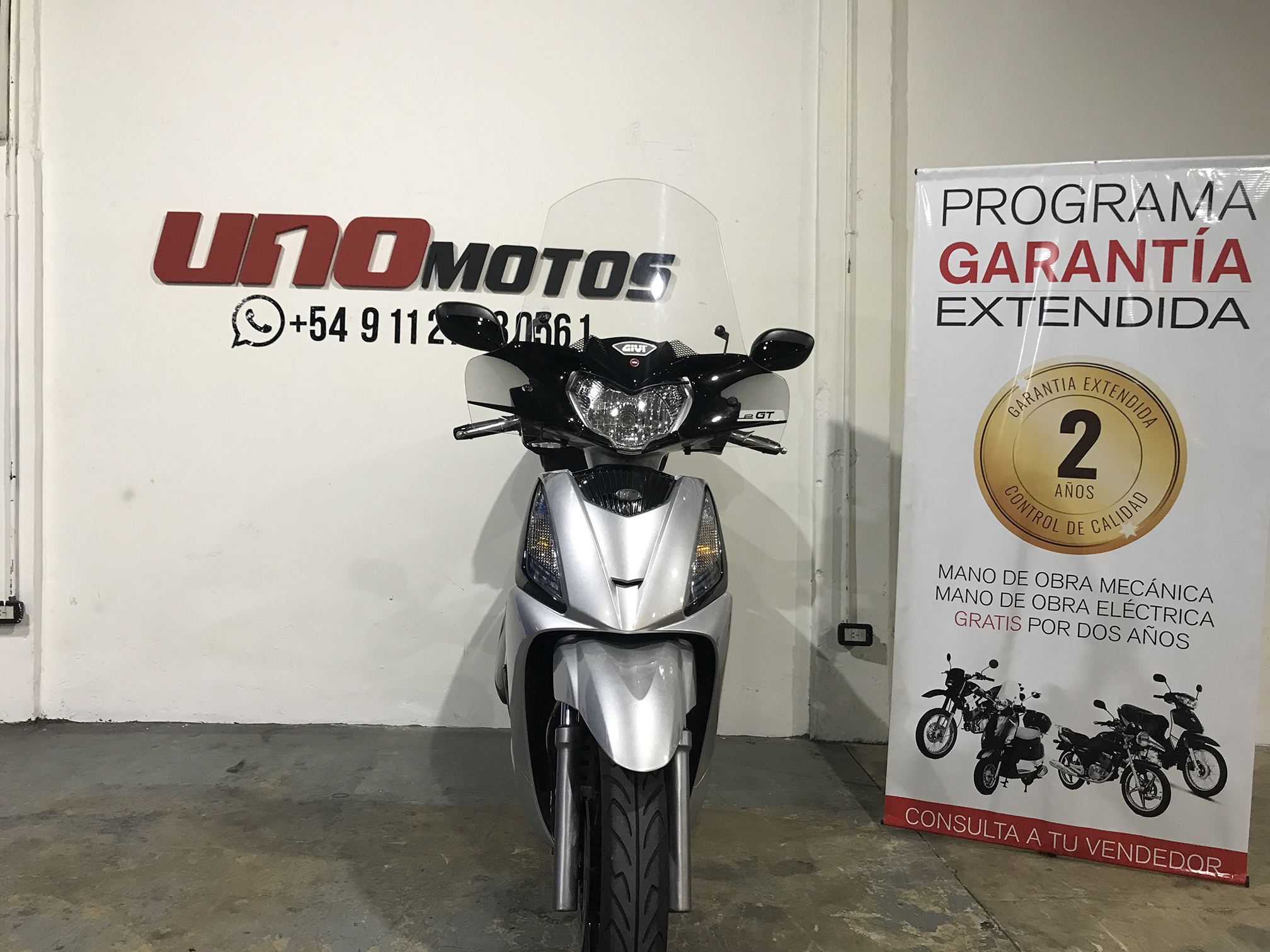 Moto Kymco People 300 GT i Usada 2017 con 5472 km INT 20516