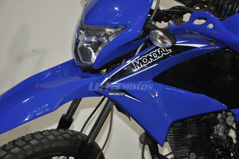 Moto Mondial Td 150 L usada con 1900 km INT: 20520