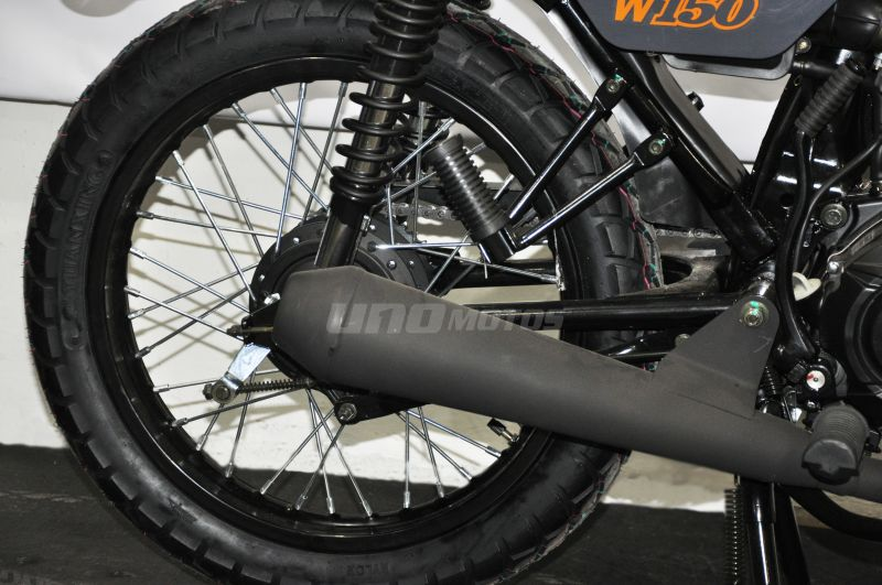 Moto Mondial W 150 s Tracker 2019