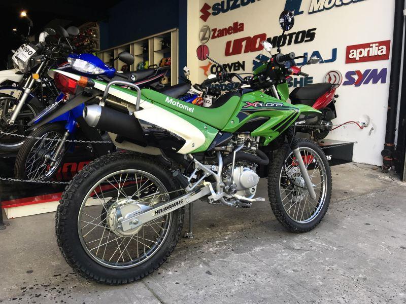 Moto Motomel Xplora 250 - promo 2013