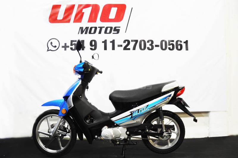 Moto Motomel Blitz 110 V8 Full linea 2020