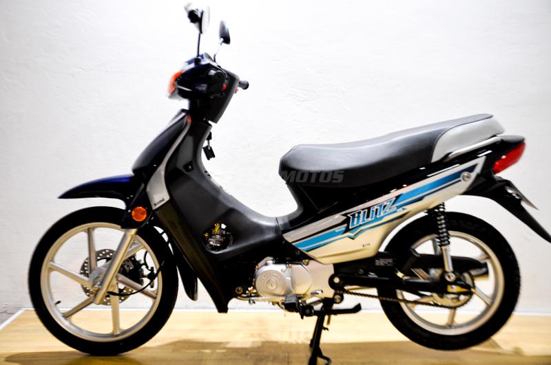 Moto Motomel Blitz 110 V8 Full 2021