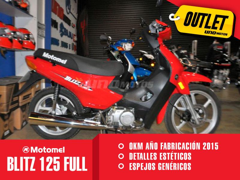 Moto Motomel Blitz 125 Full Outlet int 23092