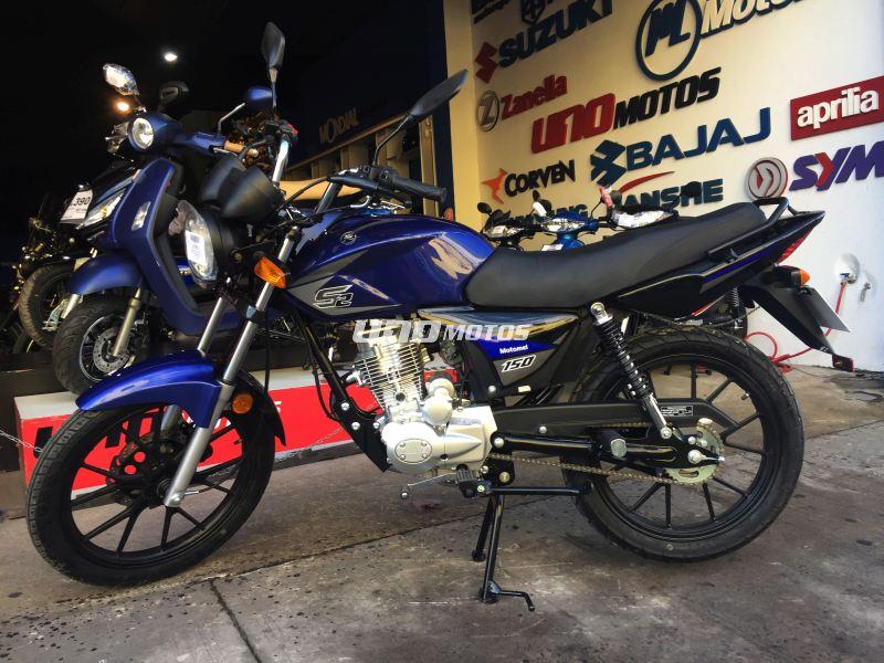 Moto Motomel CG 150 S2 Full Disco / Aleacion