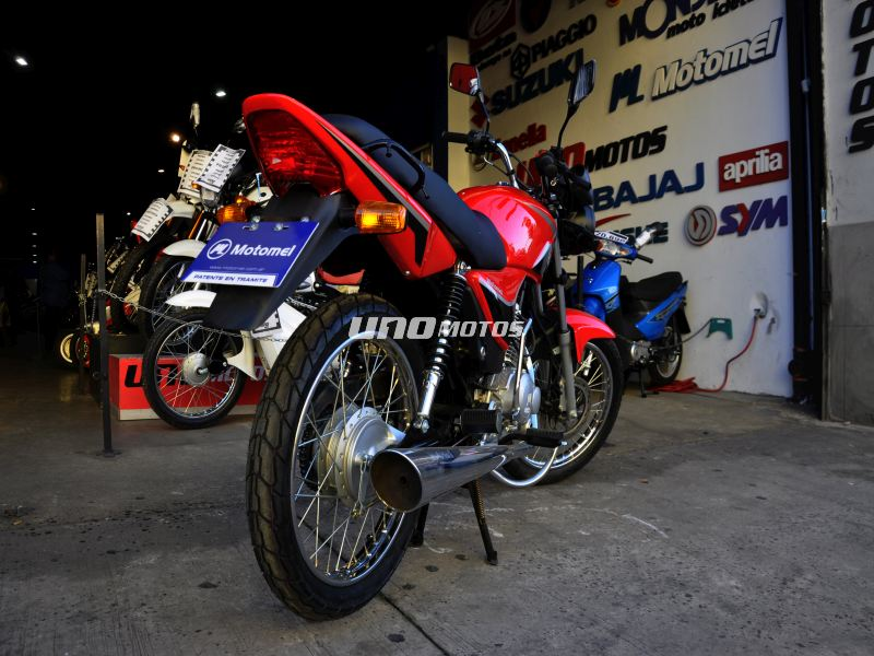 Moto Motomel CG 150 S2 Rayo/Disco linea 2016