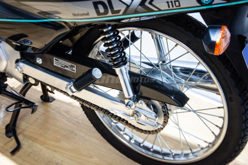 Moto Motomel Dlx 110 Linea 2021
