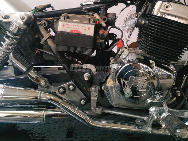Moto Motomel Dresser 250 outlet-des int 20888