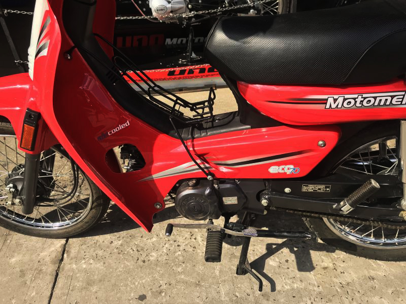 Moto Motomel Eco 70 Base linea 2012