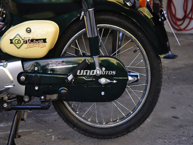 Moto Motomel GO 125 Vintage - Promo Fab 2016