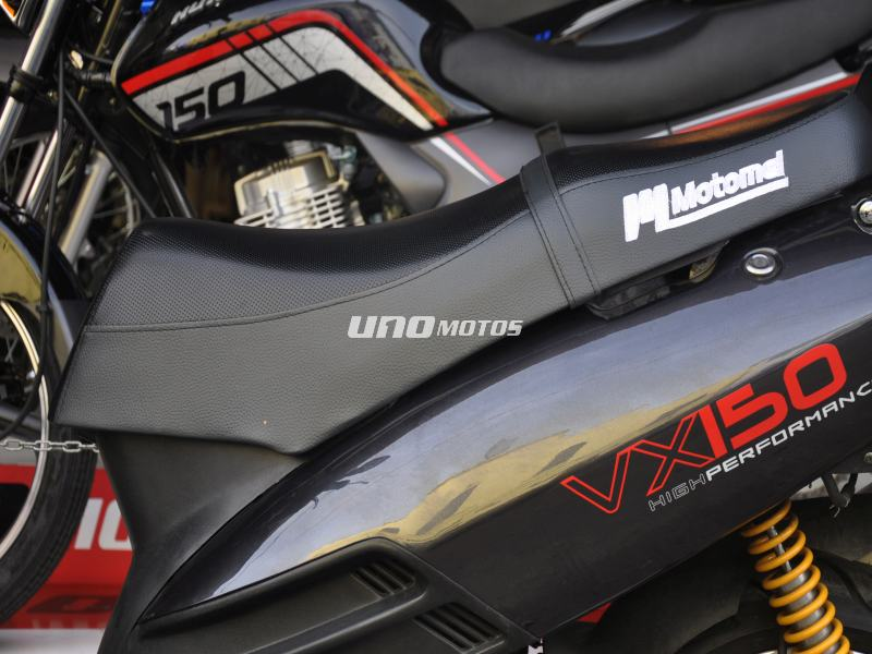 Moto Motomel Vx 150 Scooter - Promo Fab 2012