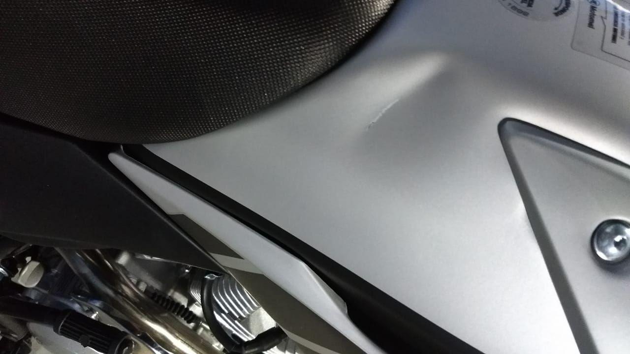 Moto Motomel Skua 150 silver 2019 - OUTLET