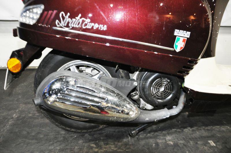 Moto Motomel Strato Euro 150 Usado 2018 con 2000km - Int 23662