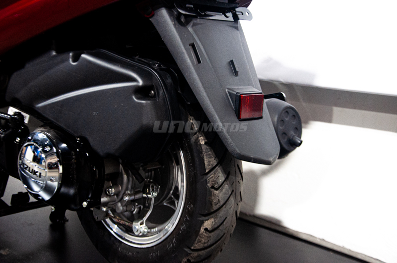 Moto Suzuki AN 125 Scooter Bordo