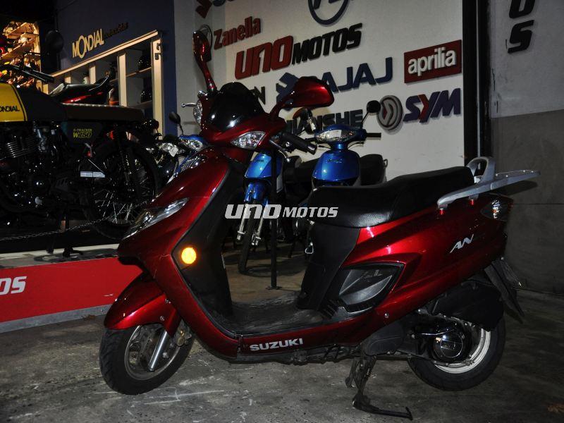 Suzuki AN 125 USADA INT 18309 2015 CON 15150KM