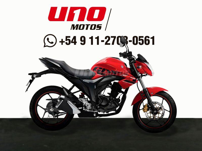 Moto Suzuki Gixxer GSX 150 Rojo