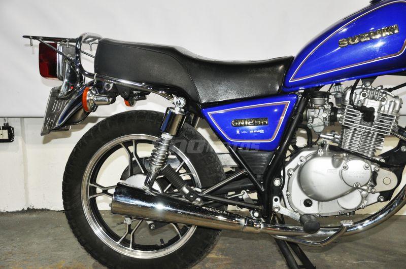 Moto Suzuki GN 125H USADA 2016, CON 12200KM, INT 19809