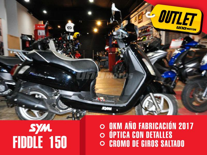 Moto Sym Fiddle II 150 S Outlet Int 20900