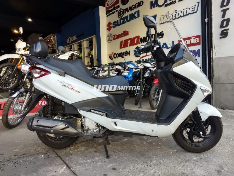 Moto Sym JoyRide 200 Usada 2017 8000KM Int 19575