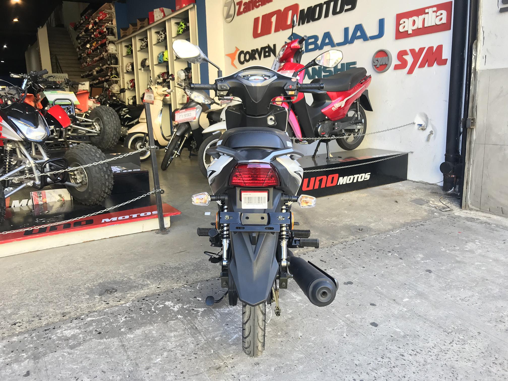 Moto Keeway Target 125 promo fab 2018