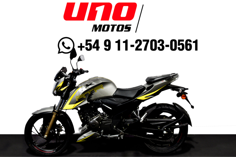 Moto TVS RTR 200 4V Carburada