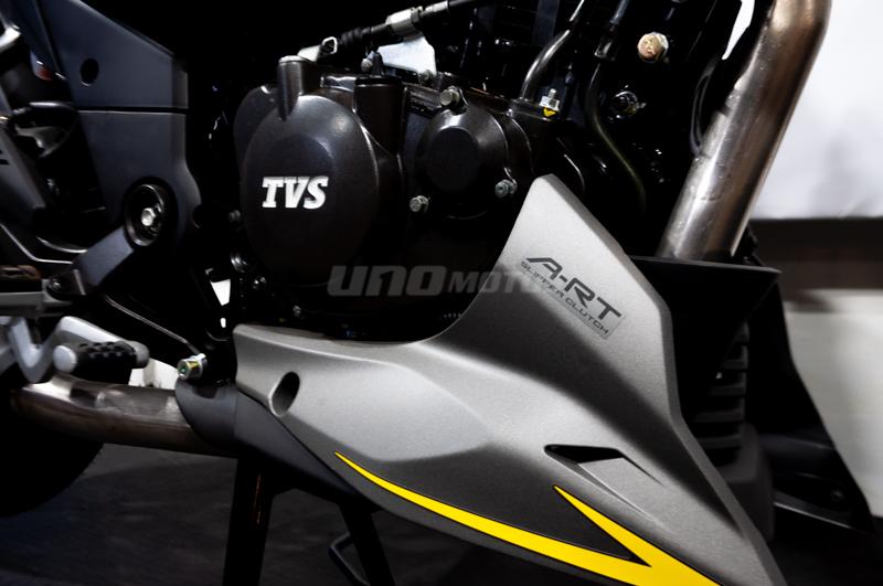 Moto TVS RTR 200 F Inyeccion 4V