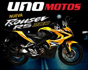 Bajaj Rouser RS 200 pista