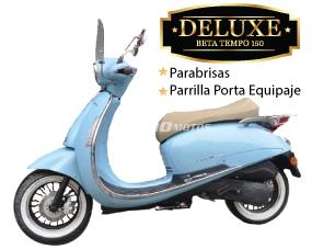 Tempo 150 Deluxe con Parabrisas Celeste