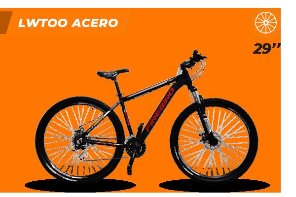 Bicicleta MTB N.29 21 vel Acero Bin29-21VAC (2) [M2862]